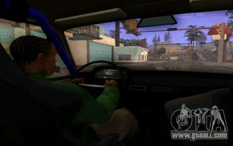 VAZ 2101 Car for GTA San Andreas inner view