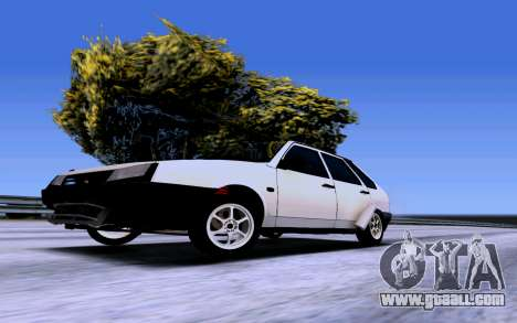 VAZ 2109 Turbo for GTA San Andreas right view