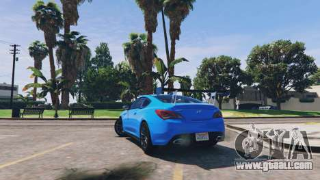 GTA 5 Hyundai Genesis 2013 v0.1 right side view