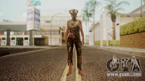 Clicker - The Last Of Us for GTA San Andreas second screenshot