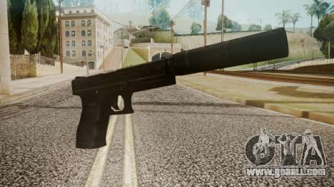Silenced Pistol by catfromnesbox for GTA San Andreas