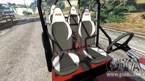 Polaris RZR 4 v1.15 for GTA 5