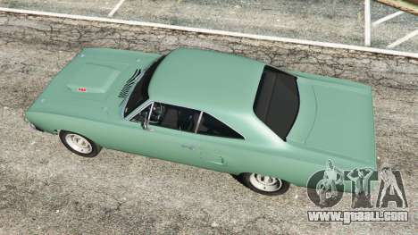 GTA 5 Plymouth Road Runner 1970 [fix] back view