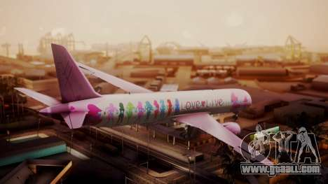 Boeing 787-9 LoveLive Livery for GTA San Andreas left view