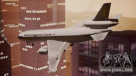 DC-10-30 British Caledonian Charter for GTA San Andreas left view