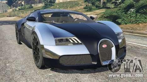 Bugatti Veyron Grand Sport v5.0 for GTA 5