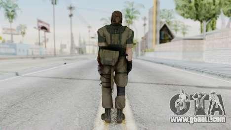MGSV Phantom Pain Snake (Olive Drab Version) for GTA San Andreas third screenshot