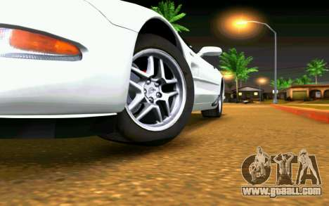 Chevrolet Corvette C5 2003 for GTA San Andreas interior