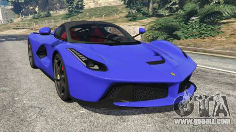 Ferrari LaFerrari 2013 v2.5 for GTA 5