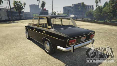 GTA 5 VAZ 2103 rear left side view