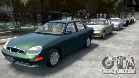 Daewoo Nubira II Sedan SX USA 2000 for GTA 4 wheels