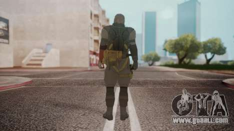 New Venom Snake for GTA San Andreas third screenshot