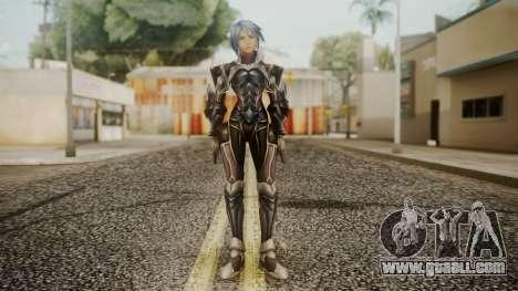 Kingdom Hearts Birth by Sleep - Armor Aqua for GTA San Andreas second screenshot