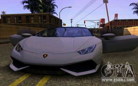 Lamborghini Huracan LP610 VELLANO for GTA San Andreas left view