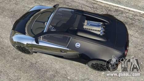 GTA 5 Bugatti Veyron Grand Sport v5.0 back view