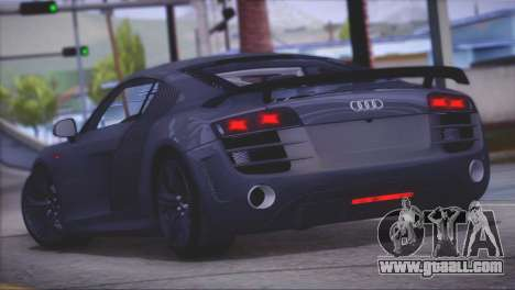 Audi R8 GT 2012 Sport Tuning V 1.0 for GTA San Andreas back left view