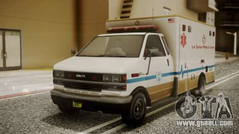 GTA 5 Brute Ambulance for GTA San Andreas