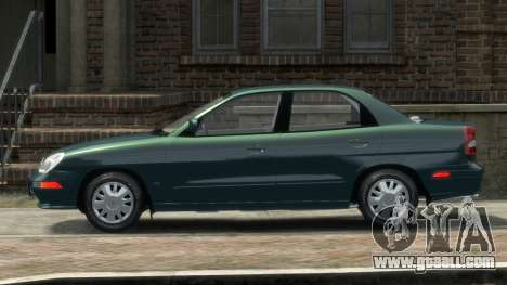 Daewoo Nubira II Sedan SX USA 2000 for GTA 4 left view