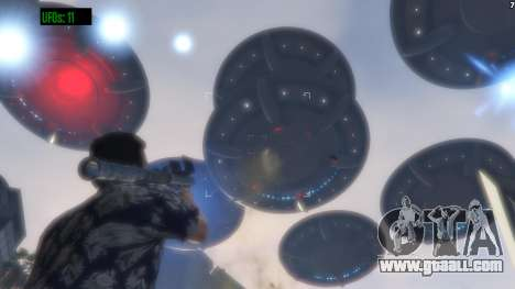 GTA 5 UFO Invasion 1.0.1