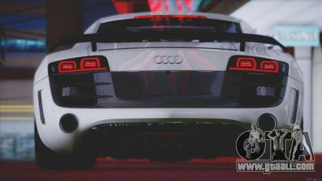 Audi R8 GT 2012 Sport Tuning V 1.0 for GTA San Andreas wheels