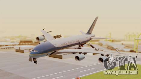 Airbus A380 Air Force One for GTA San Andreas