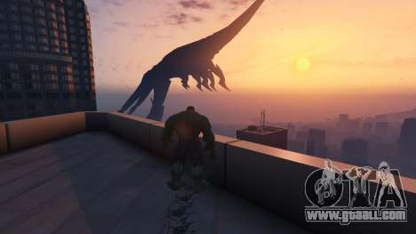 GTA 5 The Hulk tenth screenshot