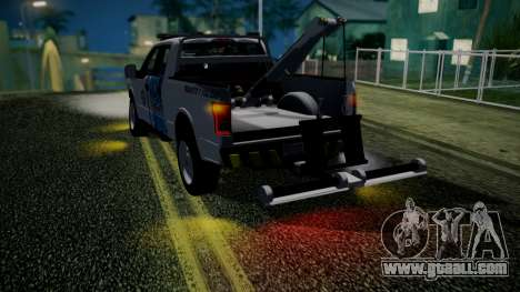 Ford F-150 2015 Towtruck for GTA San Andreas back view