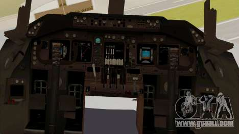 Boeing 747-8I Philippine Airlines for GTA San Andreas inner view
