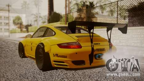 Porsche 997 Liberty Walk for GTA San Andreas left view