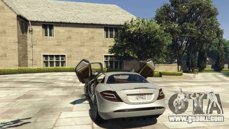 Mercedes-Benz SLR 2005 v2.0 for GTA 5