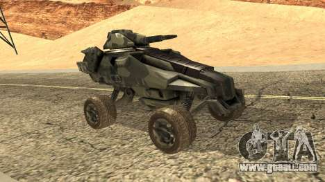 Ghost from Metal War for GTA San Andreas