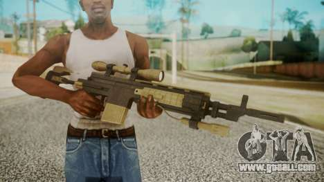Sniper Rifle from RE6 for GTA San Andreas third screenshot