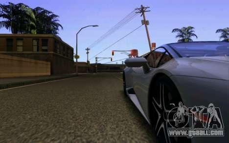 Lamborghini Huracan LP610 VELLANO for GTA San Andreas bottom view