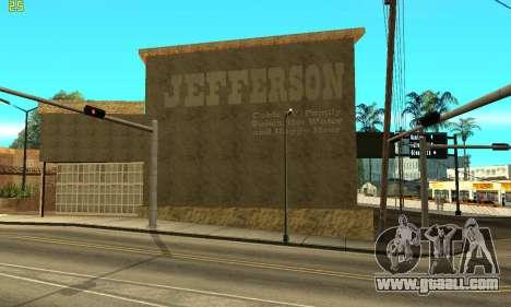 New Jefferson for GTA San Andreas second screenshot