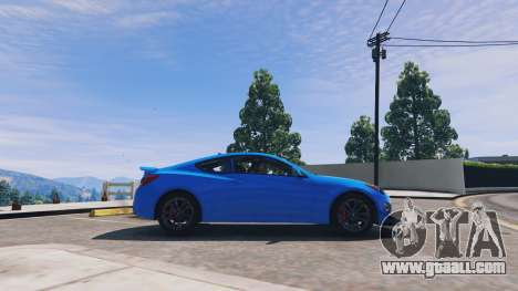 GTA 5 Hyundai Genesis 2013 v0.1 left side view