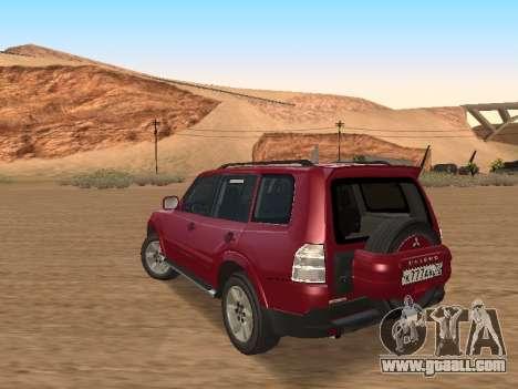 Mitsubishi Pajero for GTA San Andreas