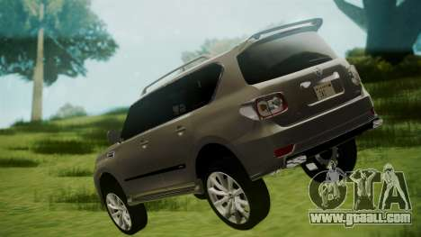 Nissan Patrol IMPUL 2014 for GTA San Andreas left view