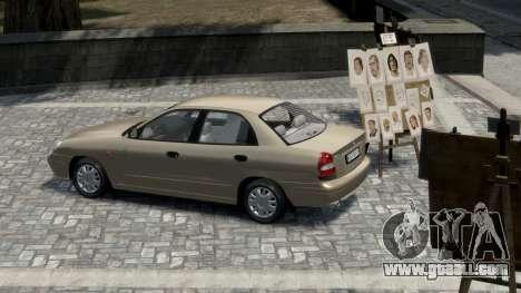 Daewoo Nubira II Sedan S PL 2000 for GTA 4 right view