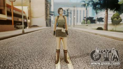 Resident Evil Remake HD - Jill Valentine for GTA San Andreas second screenshot