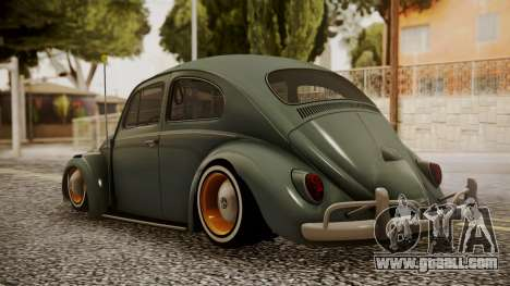 Volkswagen Beetle Aircooled for GTA San Andreas left view