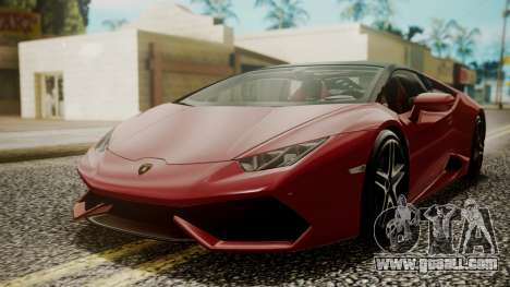 Lamborghini Huracan LP-610 VELLANO for GTA San Andreas