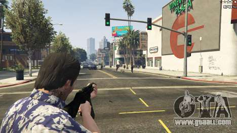 GTA 5 MW3 MP5 tenth screenshot
