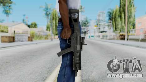 MP5 from RE6 for GTA San Andreas third screenshot