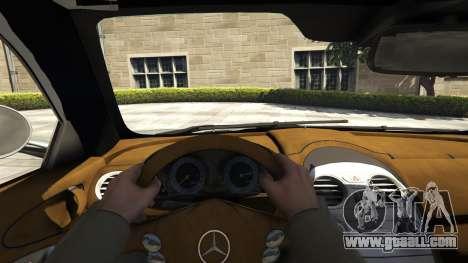 GTA 5 Mercedes-Benz SLR 2005 v2.0 back view