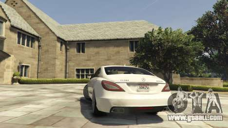 GTA 5 Mercedes-Benz CLS 6.3 AMG [BETA] rear left side view