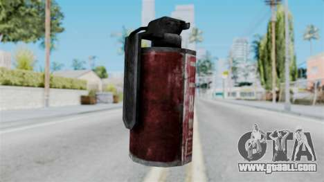 Molotov Cocktail from RE6 for GTA San Andreas second screenshot