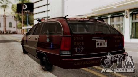 Chevy Caprice Station Wagon 1993- 1996 SAFD for GTA San Andreas left view