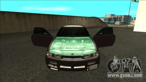 Nissan 200sx Drift for GTA San Andreas inner view