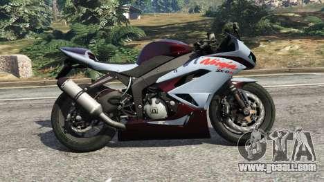 Kawasaki Ninja ZX-6R [Beta] for GTA 5