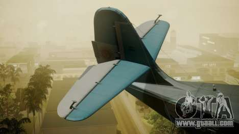 G-21A Argentine Naval Aviaton for GTA San Andreas back left view